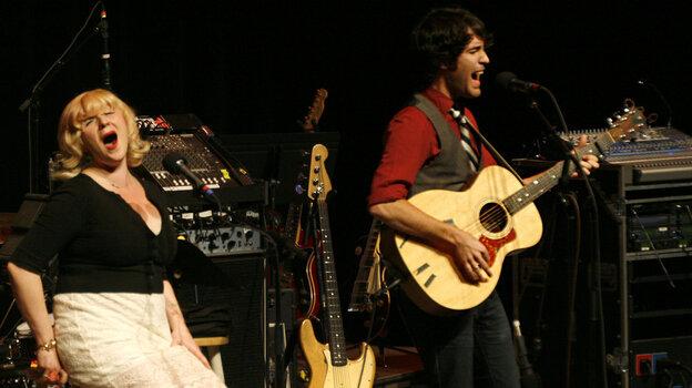 Vandeveer performs on Mountain Stage.