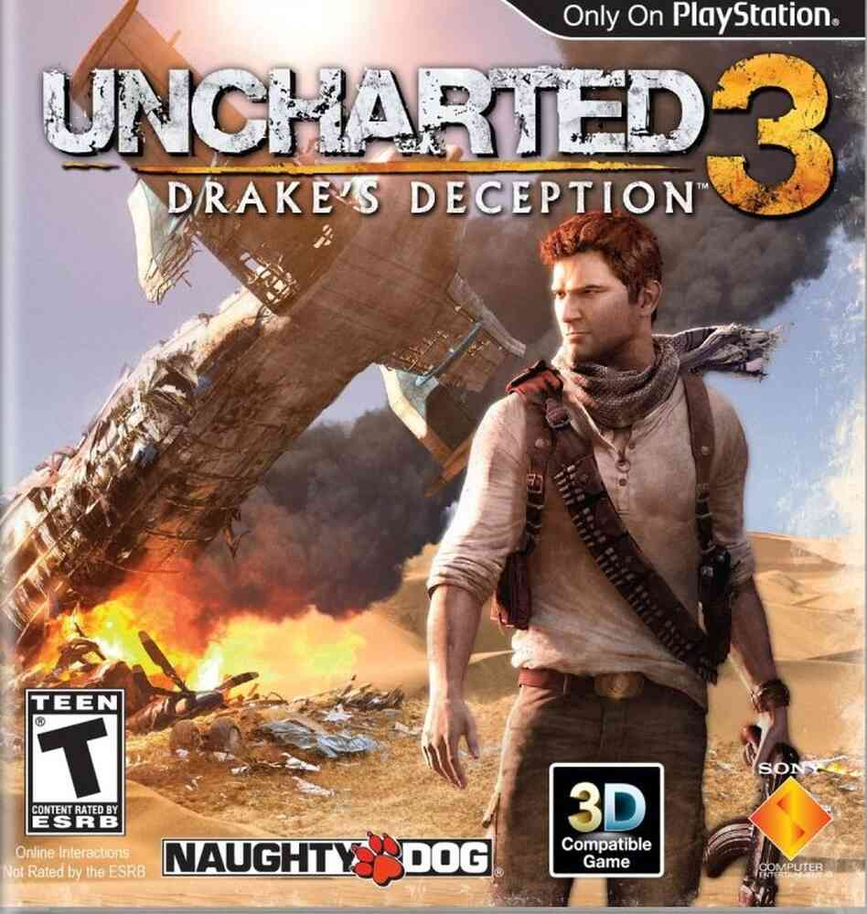 The cover of Uncharted 3