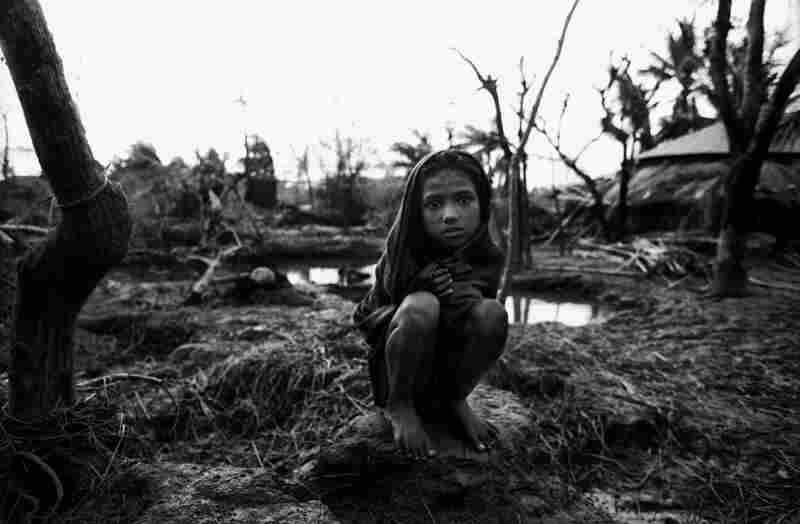 Girl at Anwara, Anwara, Bangladesh, 1991