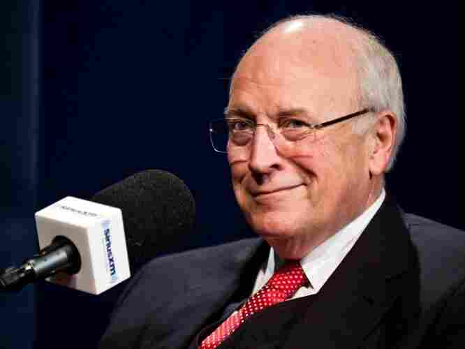 Former Vice President Dick Cheney is interviewed by SiriusXM Patriot host David Webb at SiriusXM studios on Oct. 25, 2011 in Washington, DC.