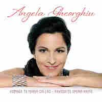 Cover for new Angela Gheorghiu album.