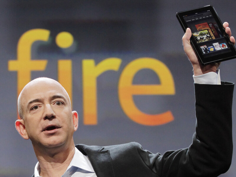 Why Amazon Loses Money On Every Kindle Fire : Planet Money : NPR