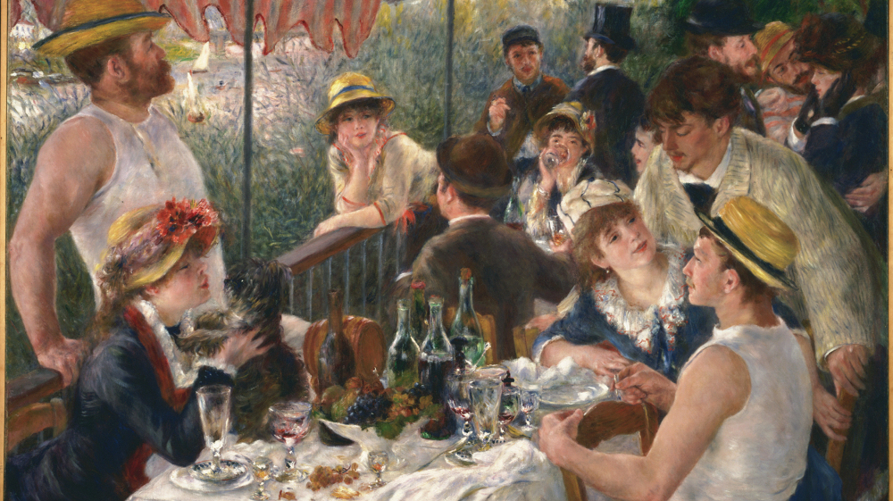 Image result for renoir the luncheon of the boating party