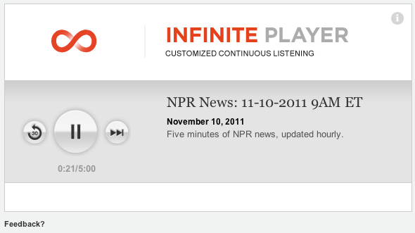 NPR Infinite Player