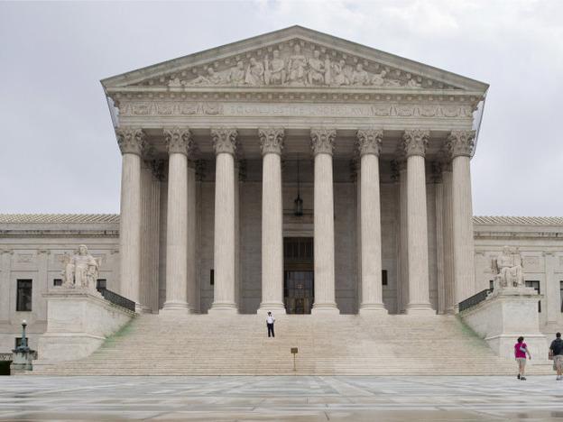 U.S. Supreme Court building, Sept. 2011. (AP)