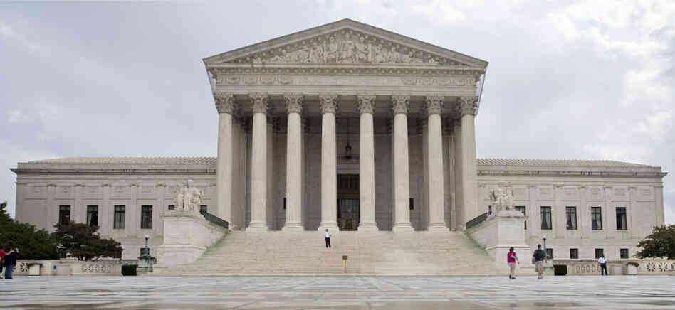 U.S. Supreme Court building, Sept. 2011.