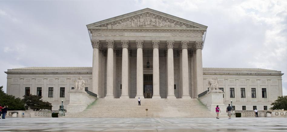 U.S. Supreme Court building, Sept. 2011.