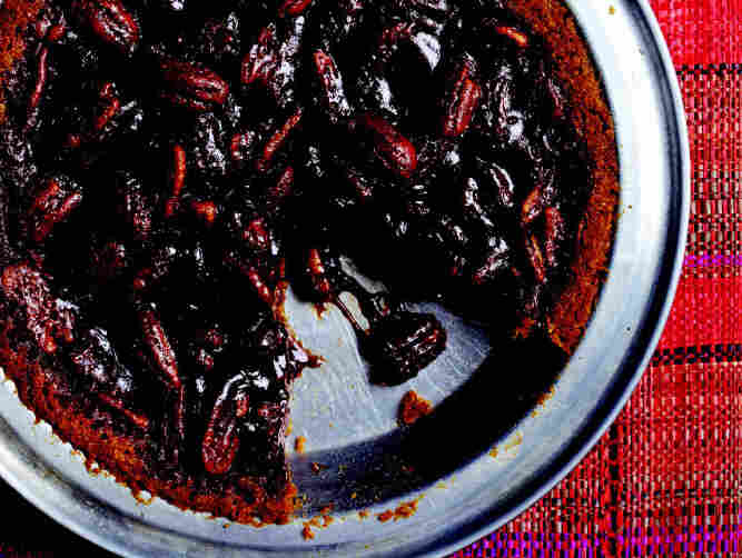 Mexican Chocolate Pecan Pie