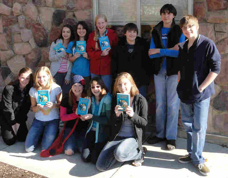"April Caswell of Purcellville, Va., reports that her students are ""delightedly zipping through The Phantom Tollbooth."""