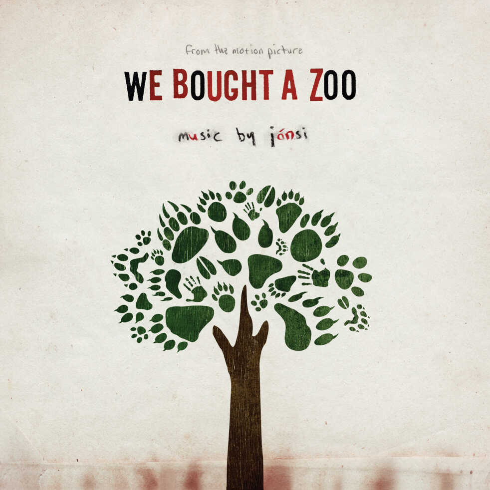 """cover art for the soundtrack to """"We Bought A Zoo"""""""