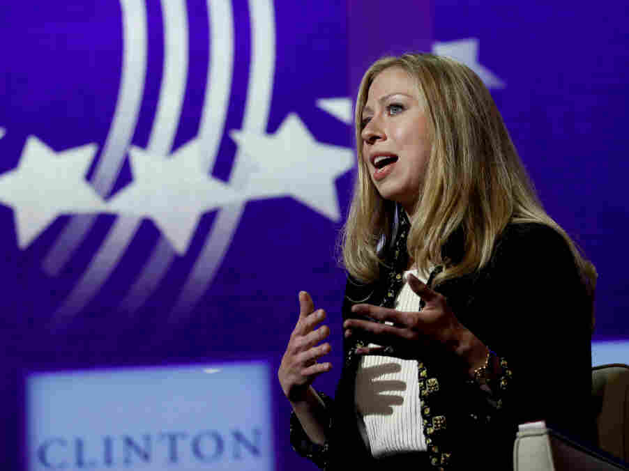 Chelsea Clinton at a Clinton Global Initiative meeting in New York, Sept. 22, 2011.