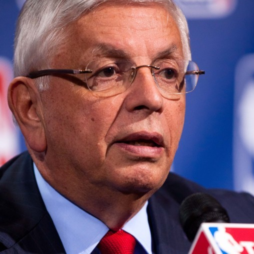 NBA commissioner David Stern.