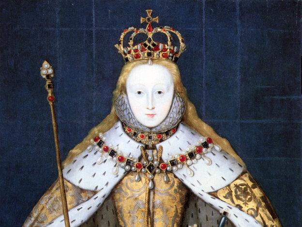 Queen Elizabeth I's coronation portrait