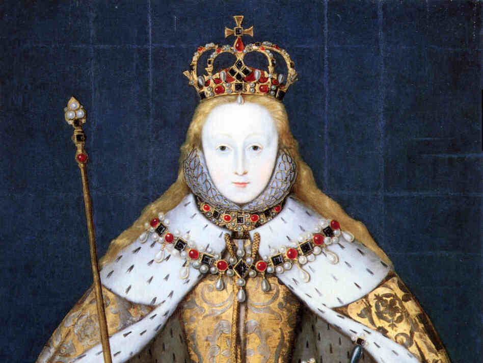 Queen Elizabeth I's coronation portrait
