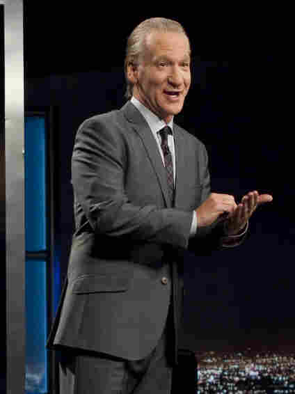 Comedian Bill Maher is the host of the HBO political commentary show, Real Time With Bill Maher.