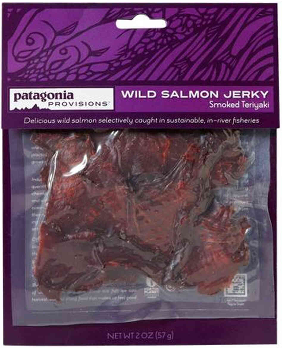 Patagonia Provisions salmon jerky will be available sometime this winter.