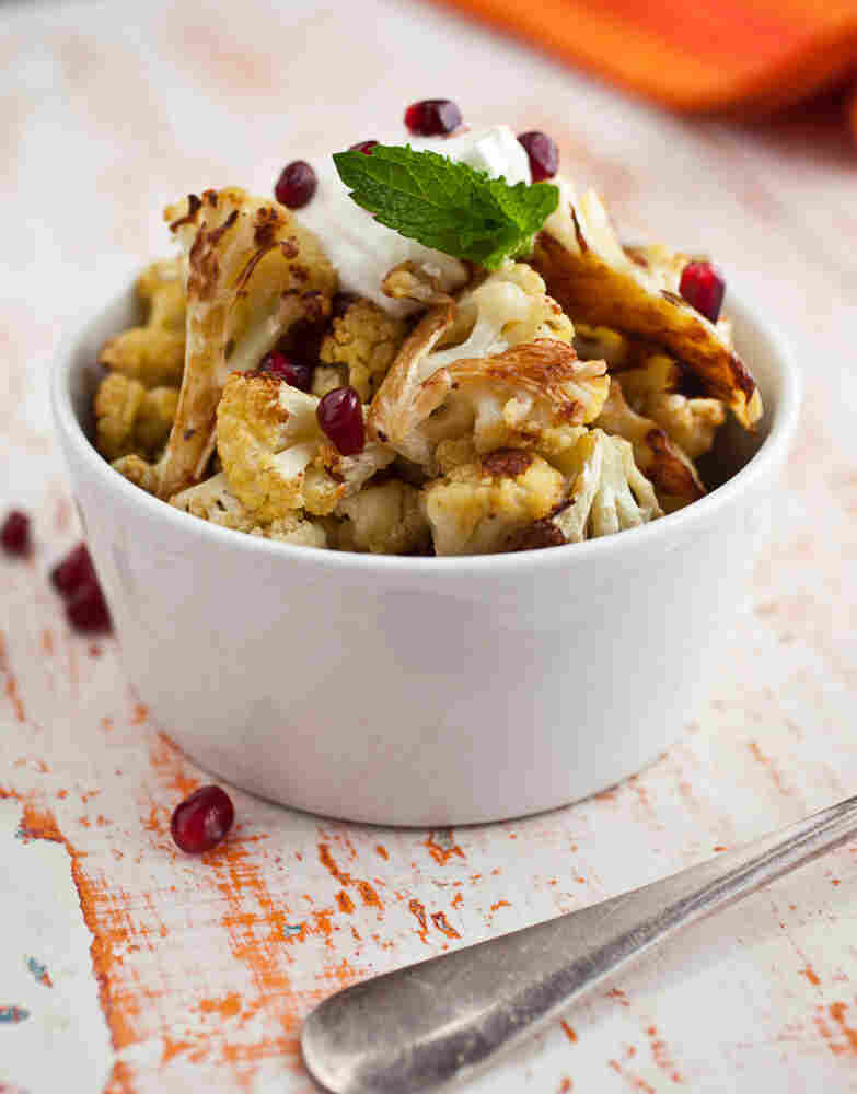 Cauliflower with yogurt from Cook This Now by Melissa Clark.
