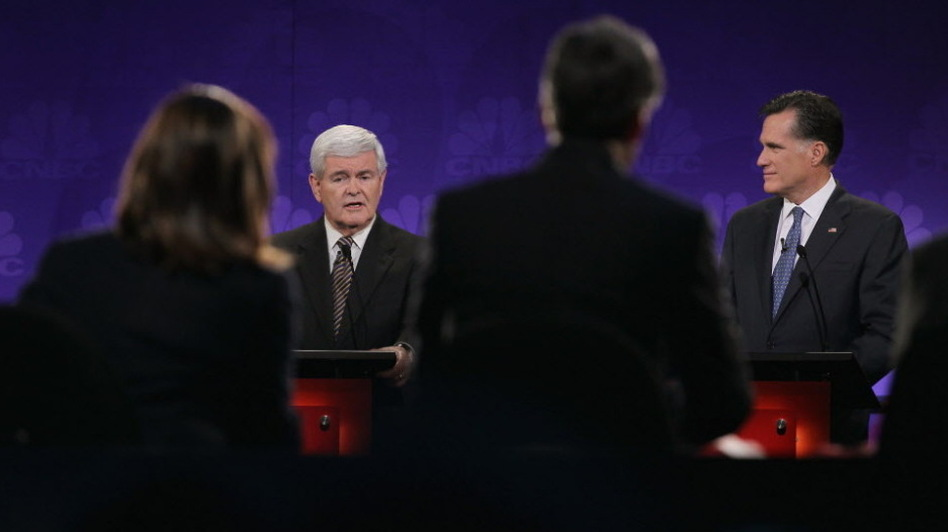 Former Speaker of the House Newt Gingrich has relished attacking the journalists questioning him during the GOP debates.