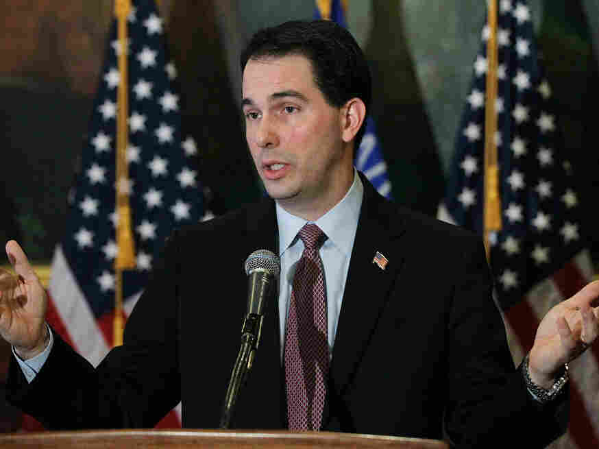 Wisconsin Gov. Scott Walker,   March 7, 2011.