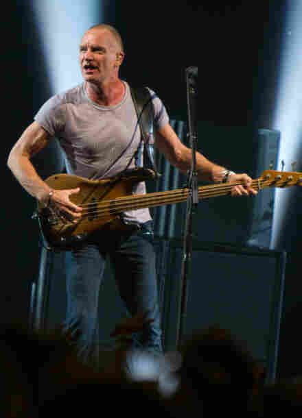 Sting performs at the Roseland Ballroom on November 8, 2011 in New York City.