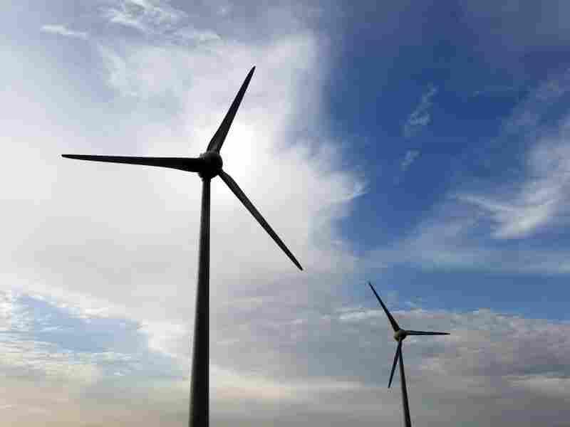 Windmills at work on Nov. 15, 2011 near Arles, France.