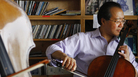 Yo-Yo Ma performs a Tiny Desk Concert at the NPR Music offices on Oct. 31, 2011.