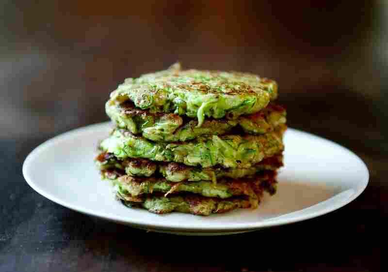 'Zucchini Pancakes'