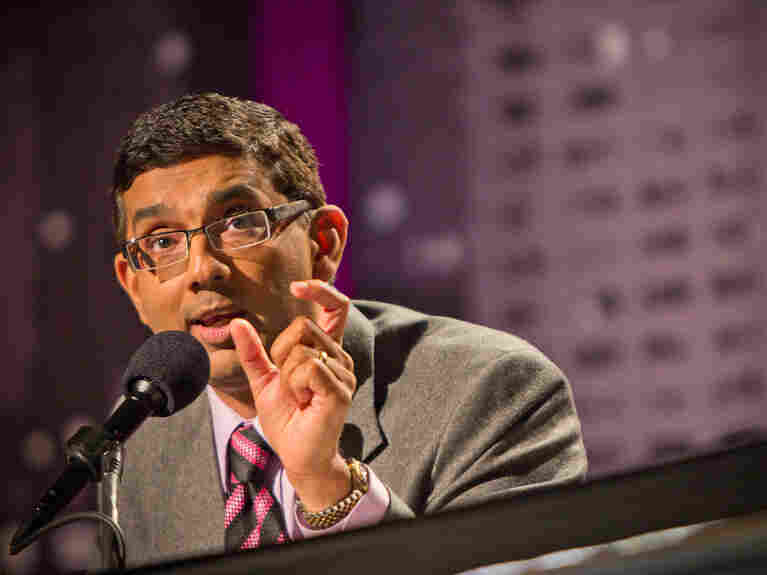 "Dinesh D'Souza, author of What's So Great About Christianity, argues against the motion ""The World Would Be Better Off Without Religion"" in a debate Nov. 15."