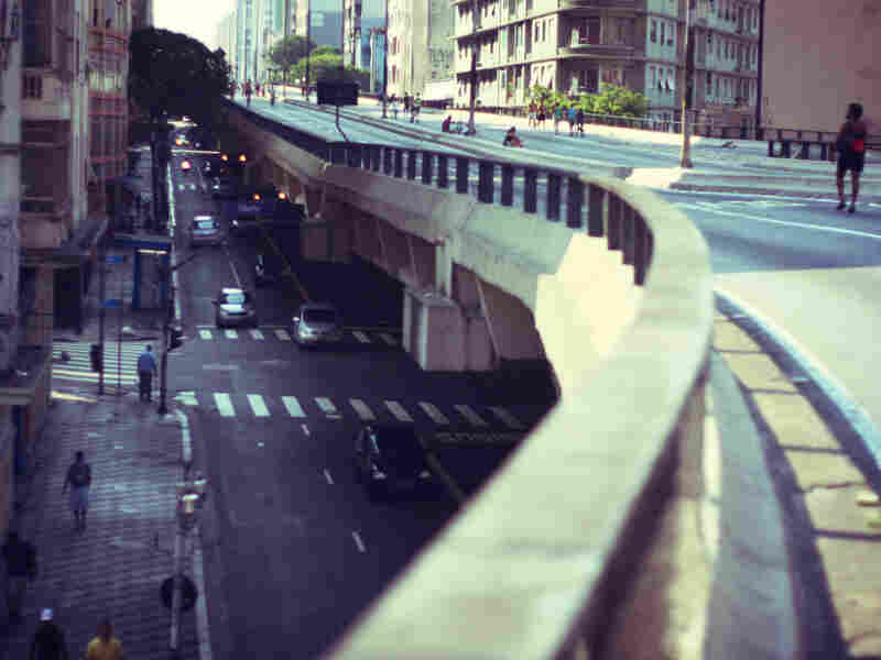 Minhocao, known as the Big Worm, is an elevated highway in Sao Paulo, Brazil. Urban planners say it needs to be taken down completely.