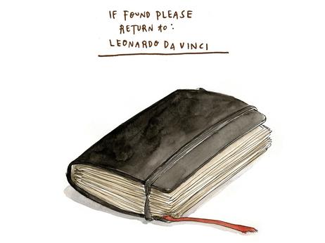 Leonardo's journal