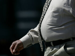 Overweight guys will have even more company in a few years.