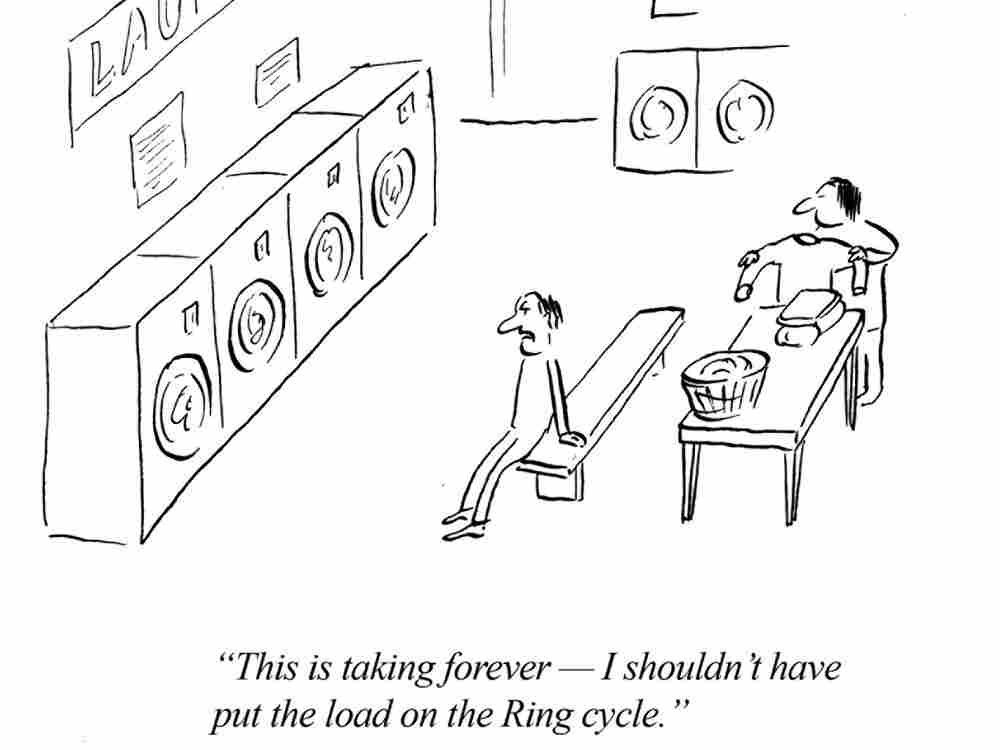 If Wagner owned a laundromat.