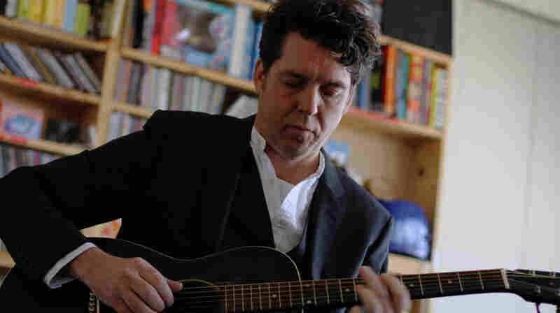 Joe Henry performs a Tiny Desk Concert at the NPR Music offices.