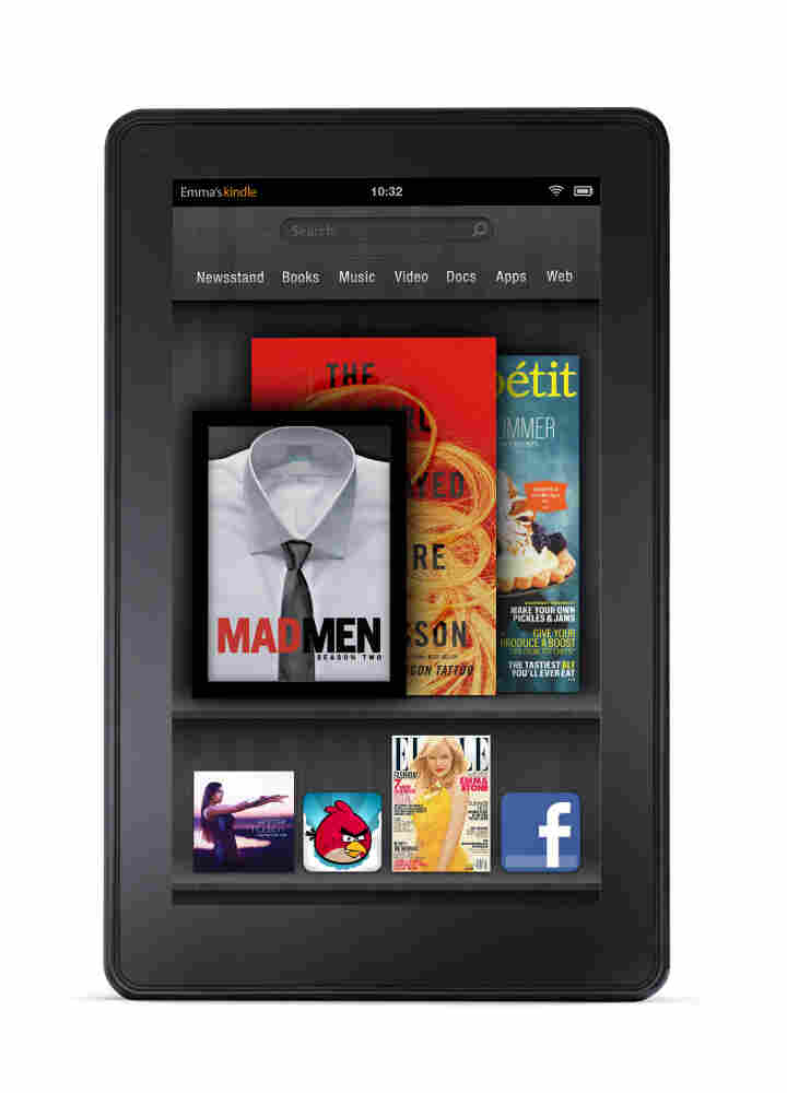 The Kindle Fire.