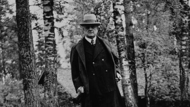 Jean Sibelius.  (Getty Images)