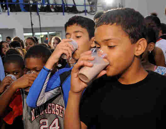 Across the country, schools have been tossing chocolate milk out of lunchrooms. But these New York City kids chugged low-fat chocolate milk as part of Refuel America. Launched in the summer of 2010, the campaign promotes the drink for post-exercise recovery.