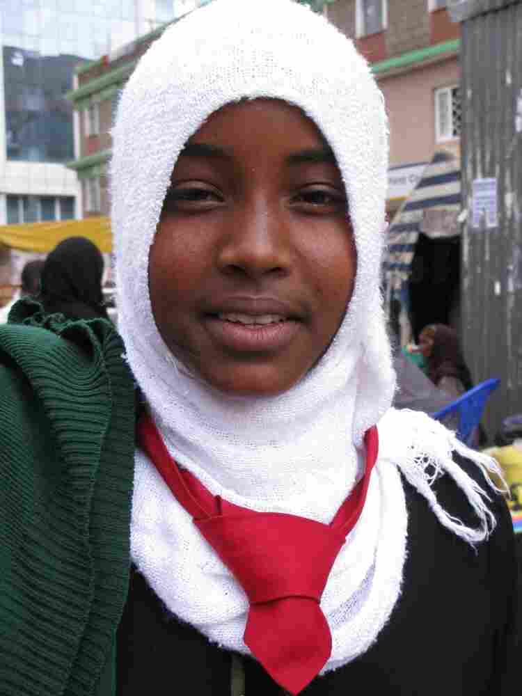 In Eastleigh, Somali schoolgirl Layla Ahmed, 16, says she's happy that Kenya is trying to drive al-Shabab out of Somalia.