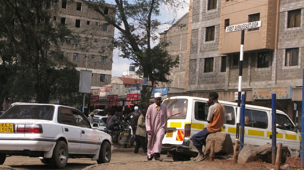 "Eastleigh, a neighborhood of Nairobi, Kenya, is known as ""Little Mogadishu,"" because its home to Somali-Kenyans and Somali immigrants.  (NPR)"
