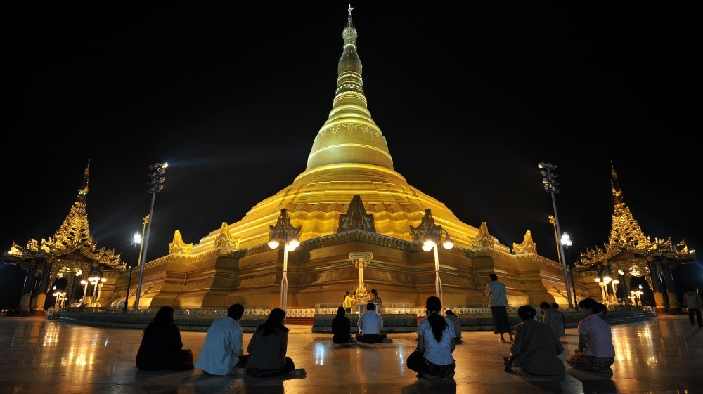 Myanmar 39 S Ghost Capital Rises From The Jungle Npr