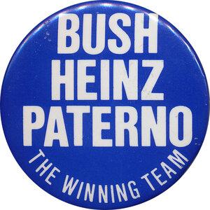 Three popular Republicans: Pennsylvania, 1988