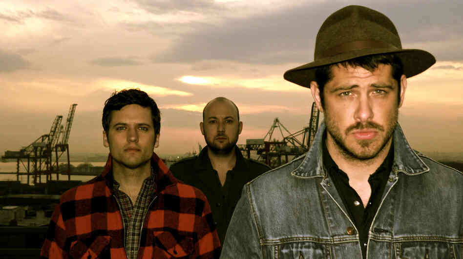 We Are Augustines' debut album is Rise Ye Sunken Ships. Left to right: Eric Sanderson, Rob Allen, Billy McCarthy.