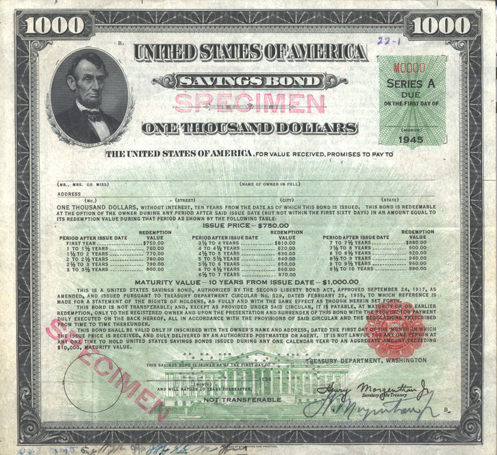 Series e savings bonds maturity