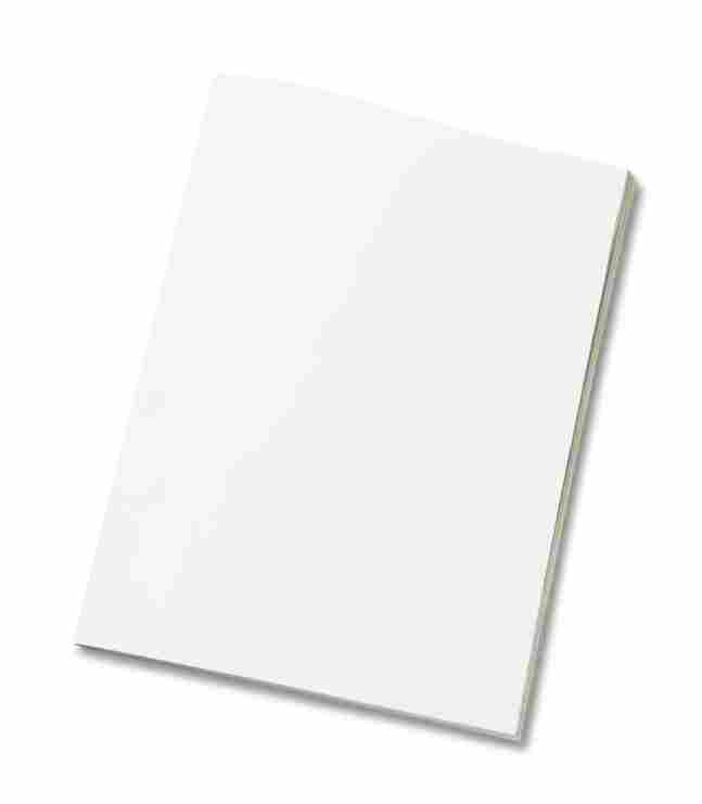 A blank magazine.