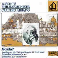 Mozart album cover