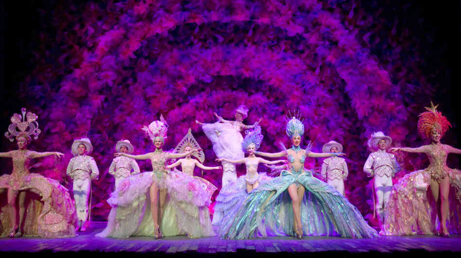 Where everybody lives to love: In Act 2 of Follies, what's been a relatively dark story explodes into a riot of color in what's known as the Loveland sequence — an homage to the spectacular Broadway follies staged between the World Wars.