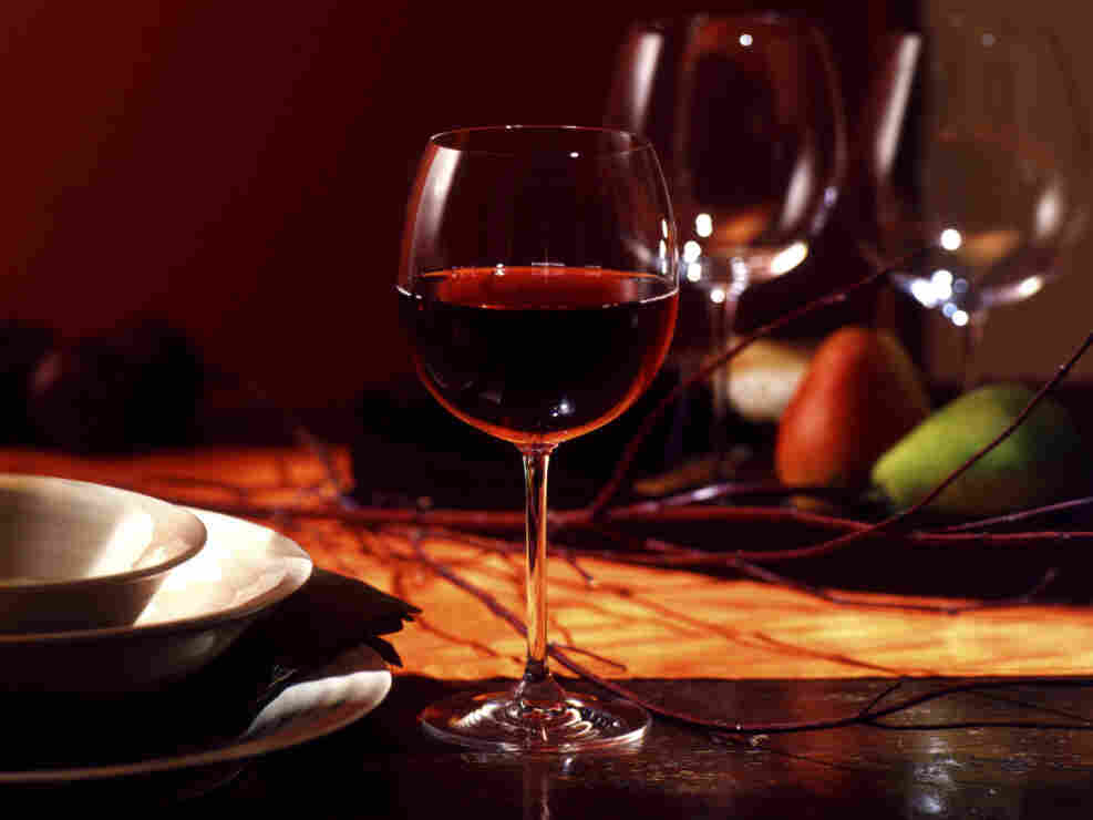 Perfect pairings: wine, food and music.