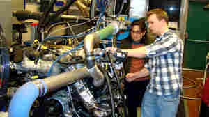 A Push To Make Gasoline Engines More Efficient