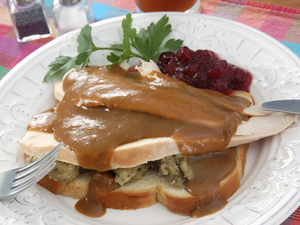 Mmmm. Turkey