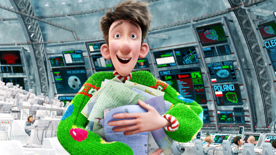 Movie Review - 'Arthur Christmas' - The Brits, Doing Well By A ...