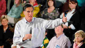 As GOP Rivals Rise And Fall, Romney Gets A Pass